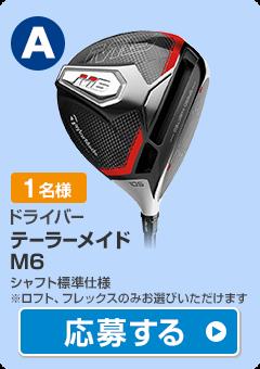 【ドライバー】テーラーメイド M6 ドライバー