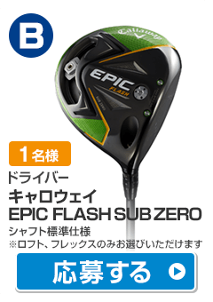 【ドライバー】キャロウェイ EPIC FLASH SUB ZERO