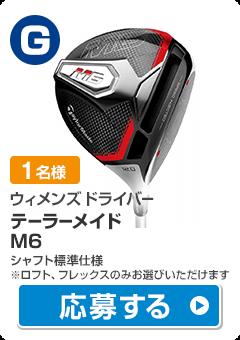 【ウィメンズ ドライバー】テーラーメイド M6